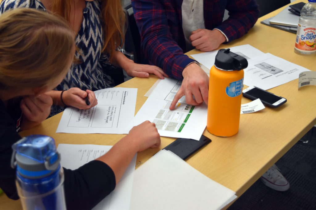 hands on exercise for design thinking workshop